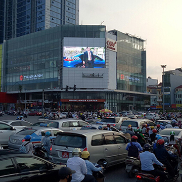 LED Screen at Artemis Central Mall