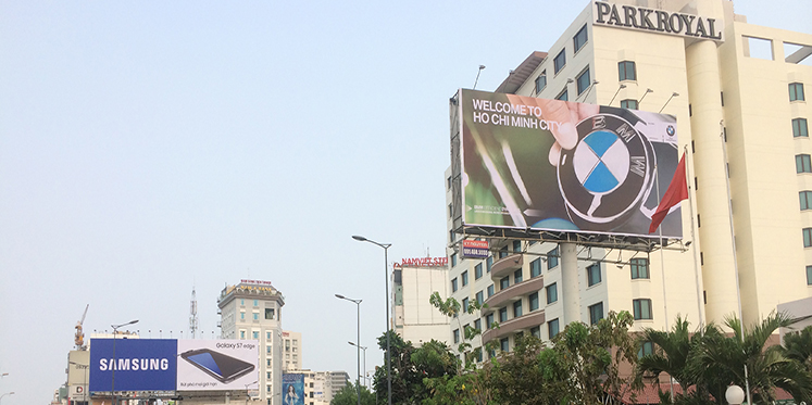 OOH Advertising in Ho Chi Minh City