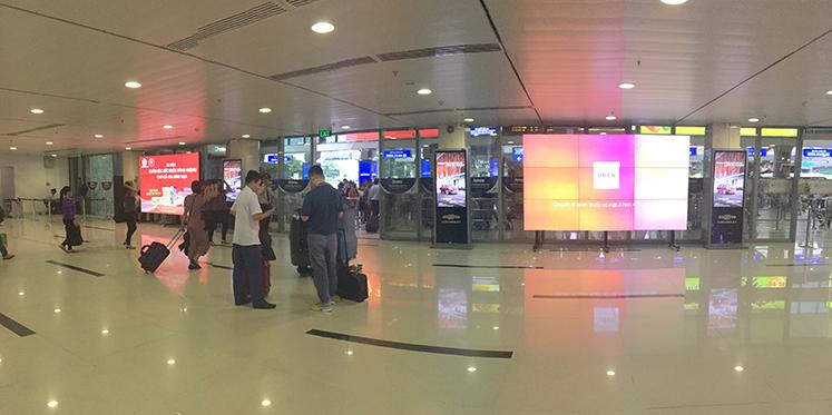 LED Screen at Tan Son Nhat International Airport