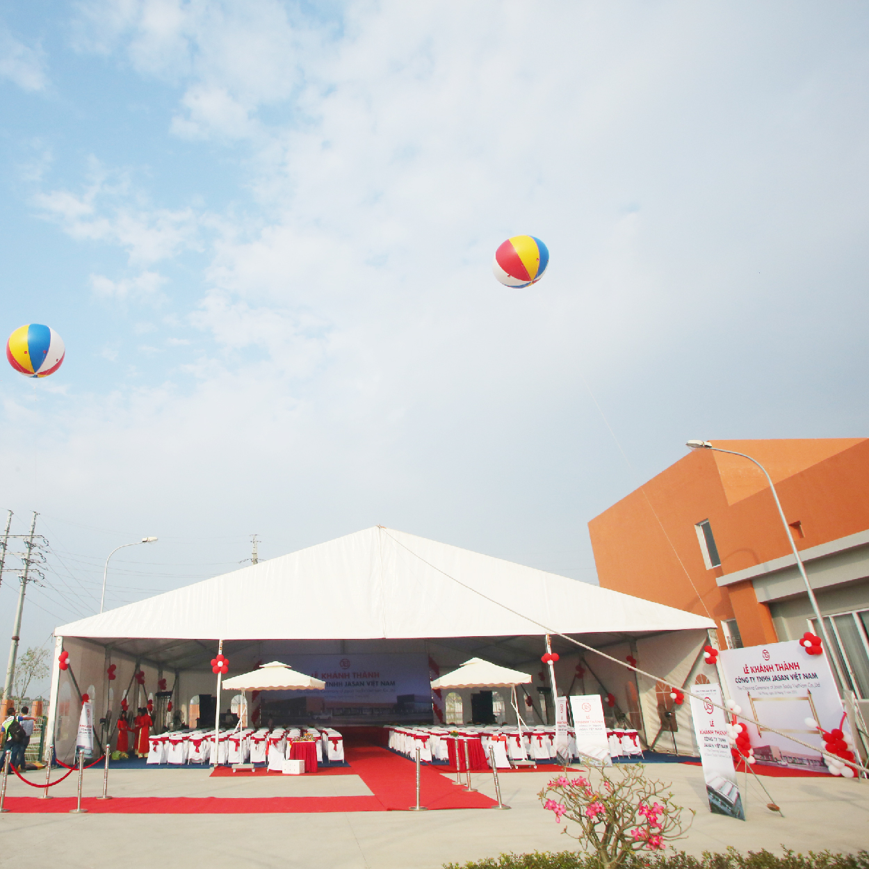 Opening Ceremony of Jasan Vietnam Co., Ltd