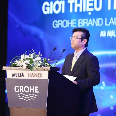 GROHE Re-Launching Press – conference in Vietnam