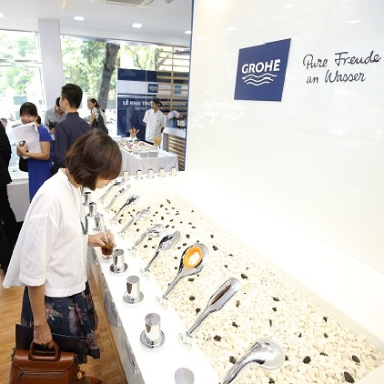 GROHE Flagship Showroom Opening